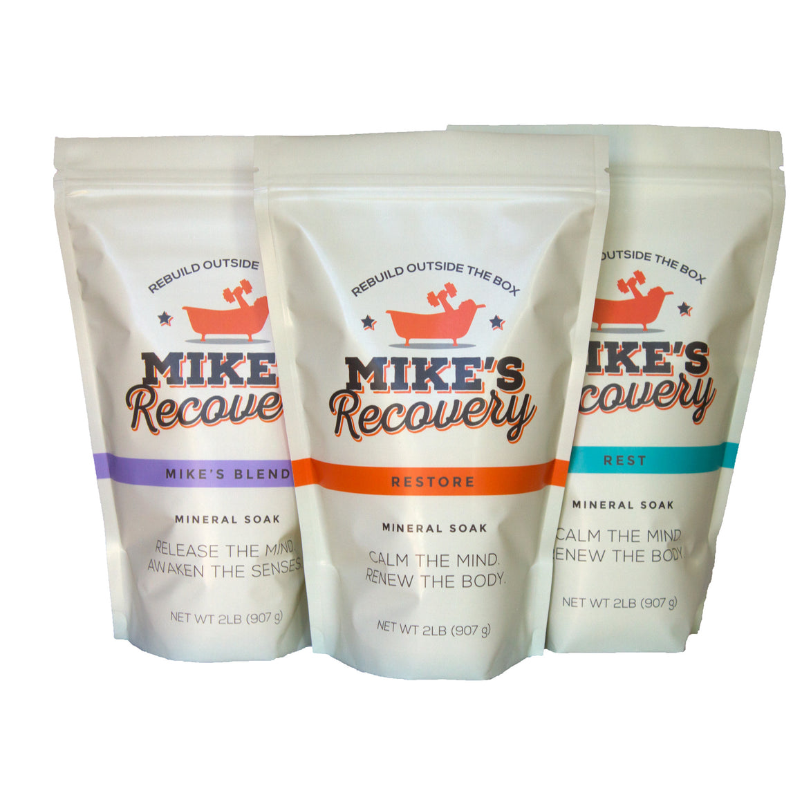 The Indispensable Mineral Soak 2lb Pouch Combo