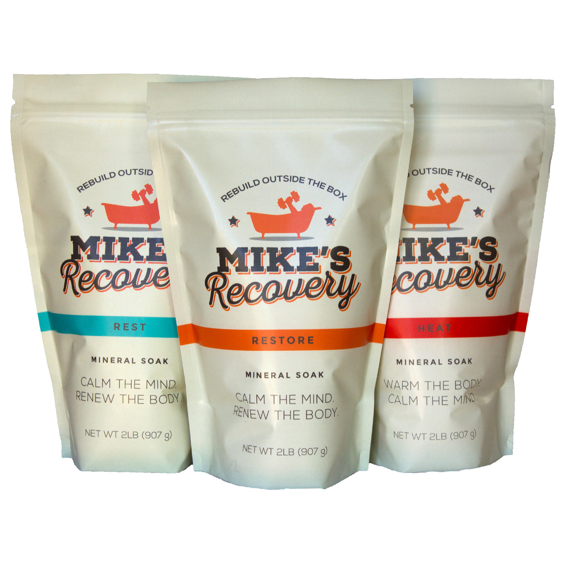 The Competition Mineral Soak 2lb Pouch Combo