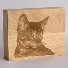 Pet Urn, handcrafted pet portrait urn