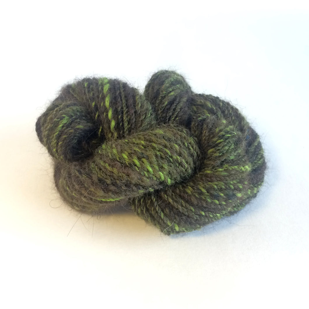 pet hair yarn | wool blended