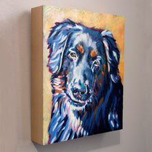 Custom pet portrait keepsake box or urn