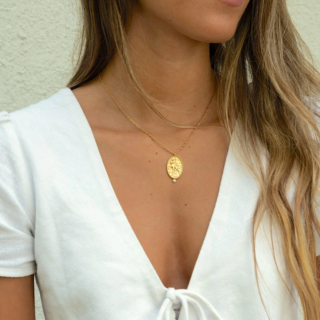 BAMBI NECKLACE GOLD