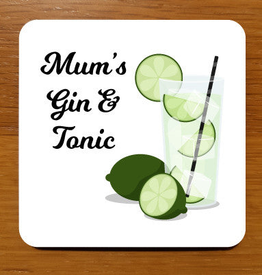 Gin & Tonic Drinks Coaster