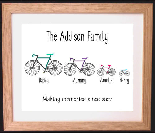 Cycling Family Gift