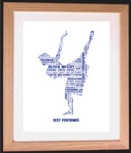 Personalised Dancer Word Art Gift
