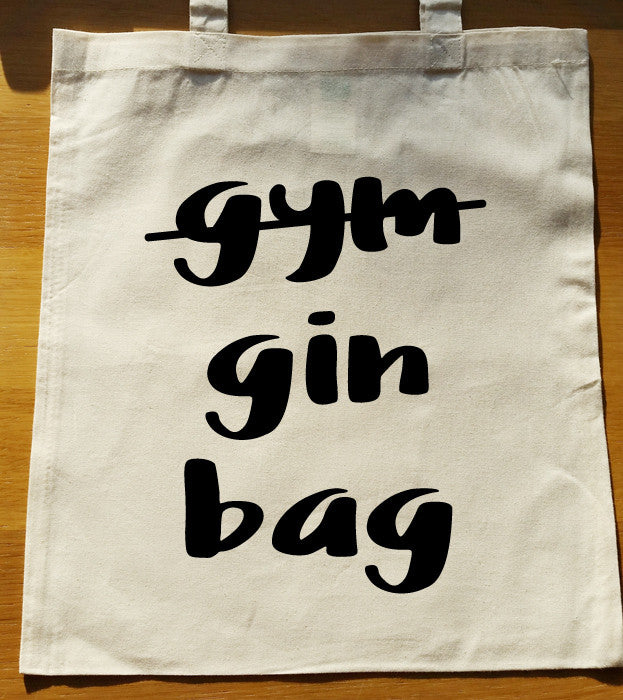 gym gin bag Tote Bag