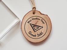 Personalised Teacher Maths Protractor Rubber Stamp Says Great Job Marking Teacher Gift