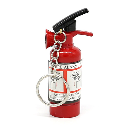 Mini Fire Extinguisher Lighter Key Chain