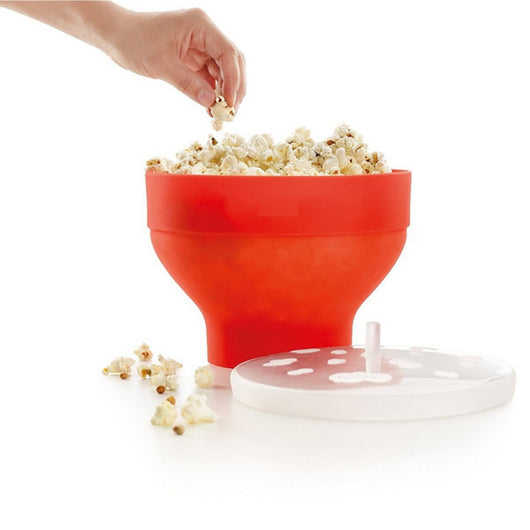 Microwaveable Popcorn Maker
