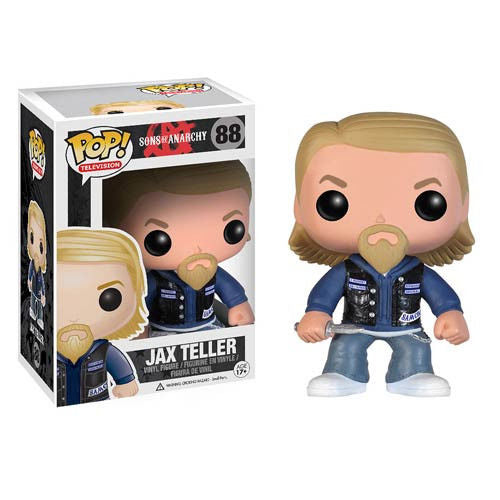 FUNKO POP 2014 TELEVISION Sons Of Anarchy JAX TELLER #88 SEALED