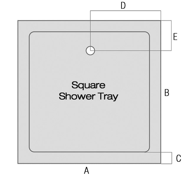Square Shower Tray