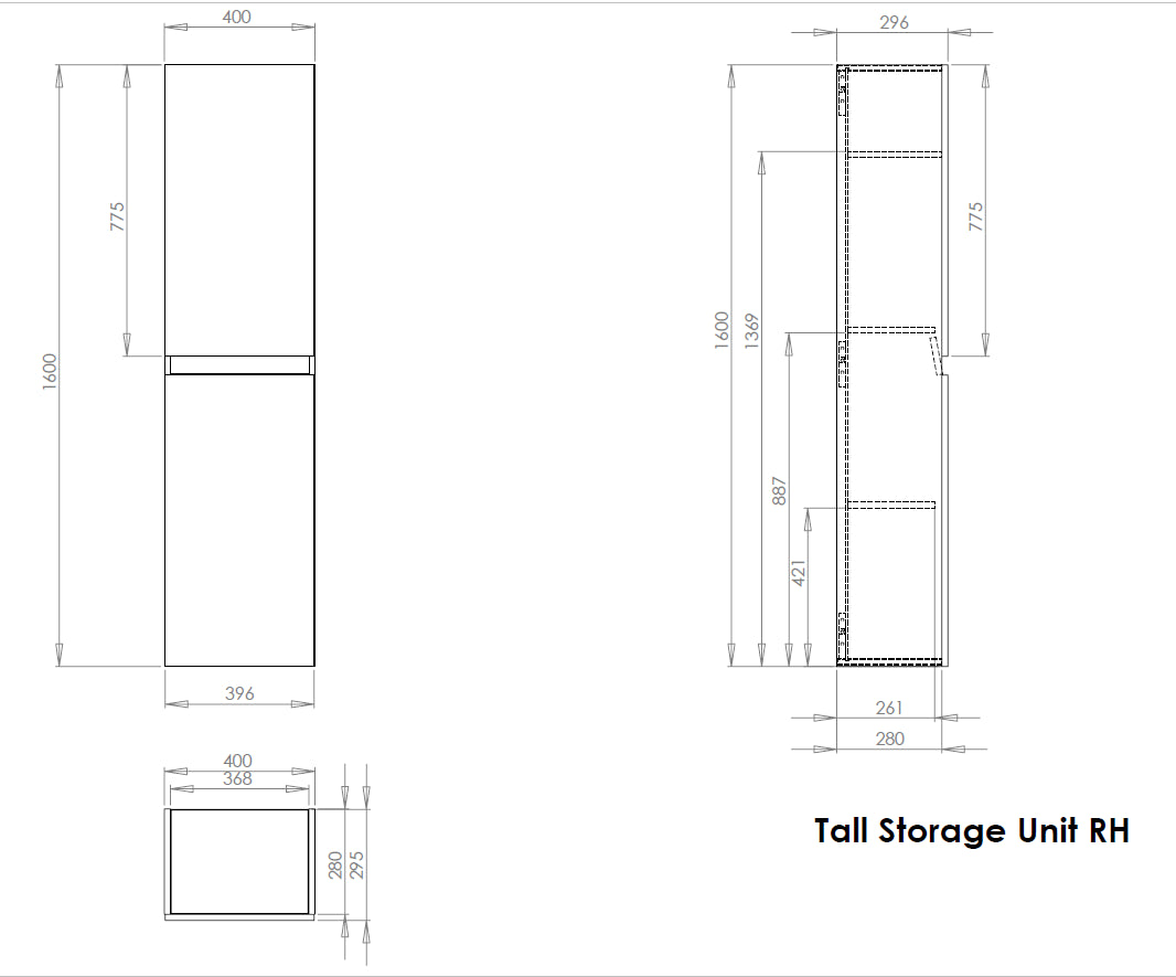 Tall Storage Unit