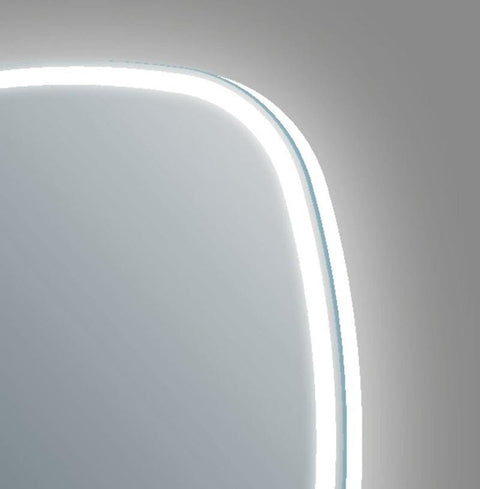 Opel Aluminium-Framed LED Mirror with Touch Sensor & Demister - LED Mirrors
