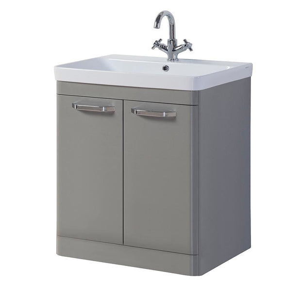 Options Floor Standing Vanity Unit - Basalt Grey - 3 Sizes - 800mm - Vanity Unit