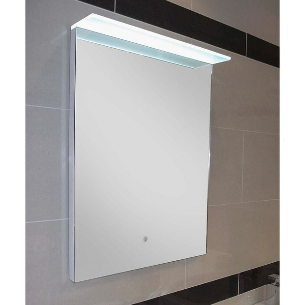 RAK Manhattan LED Mirror with Demister Pad & Canopy - LED Mirrors