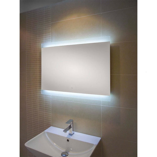 RAK Manhattan LED Mirror with Demister Pad & Shaver Socket - LED Mirrors