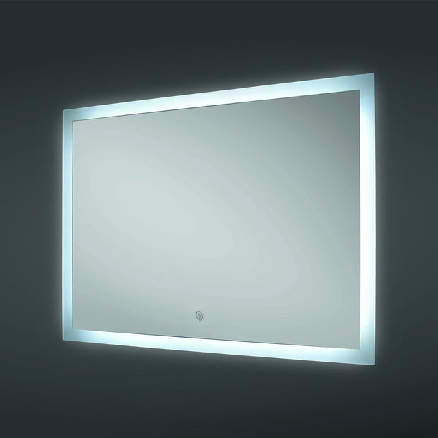 RAK Manhattan LED Mirror with Demister Pad - LED Mirrors