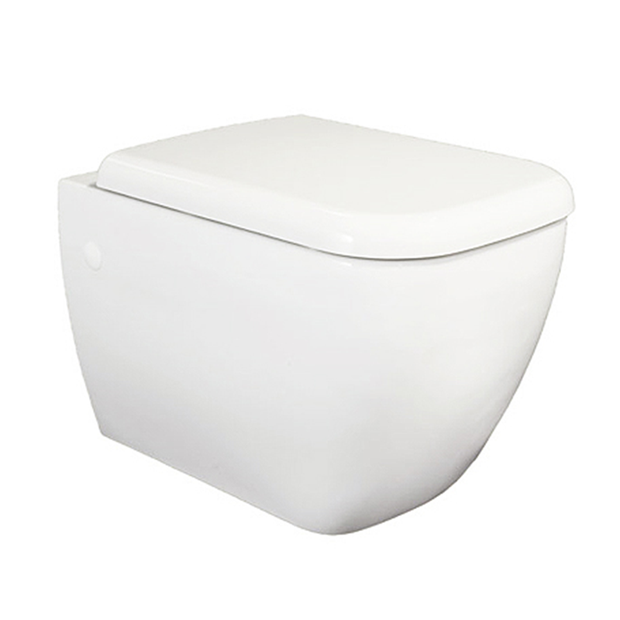 RAK Metro Wall-Hung Toilet with Soft-Close Seat - WC
