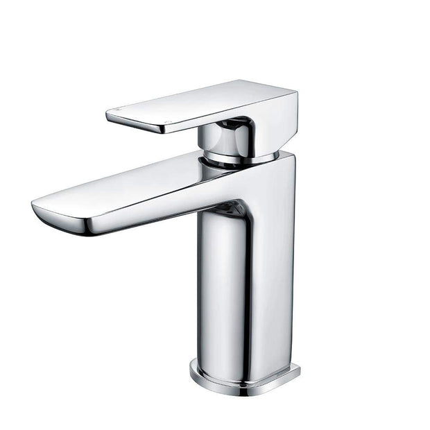 RAK Moon Mini Basin Mono Tap with Clicker Waste - Chrome - Basin Tap