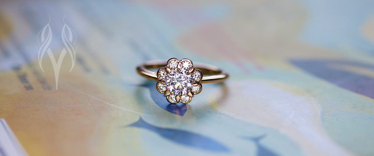 heather diamond engagement ring by maevona
