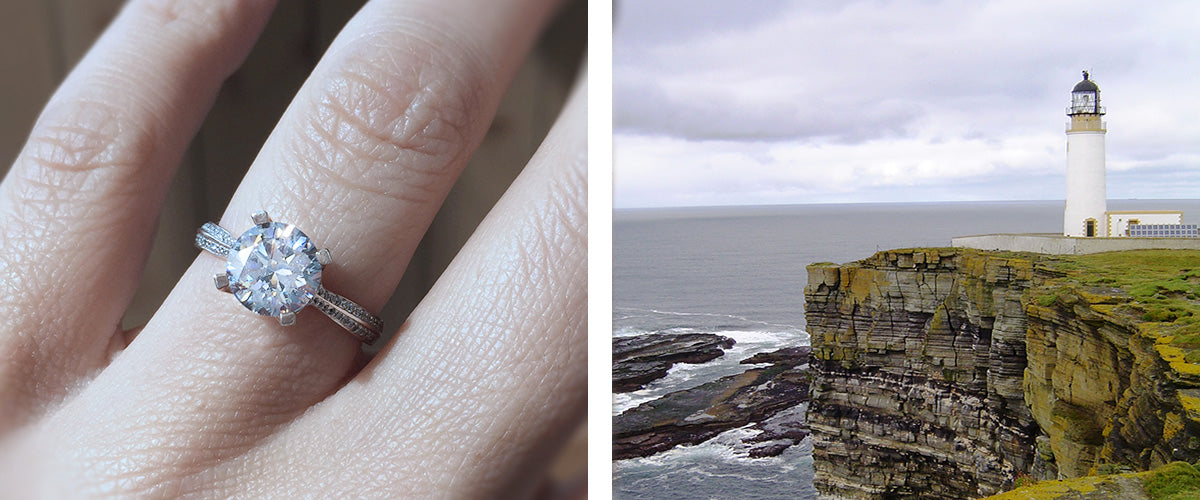 WESTRAY ROUND PAVE RING MAEVONA