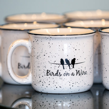Birds on a Wire (BOAW) Campfire Mug