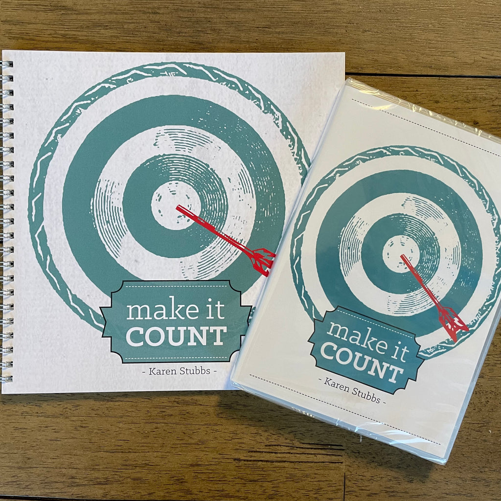 Make It Count Study Guide plus FREE DVD!!!