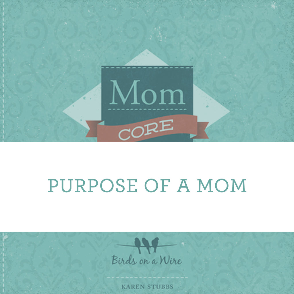 Purpose Of A Mom | Video Lesson (Online Access)