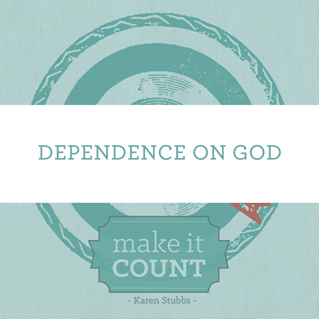 Dependence On God | Video Lesson (Online Access)