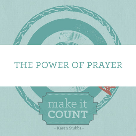 The Power Of Prayer | Video Lesson (Online Access)