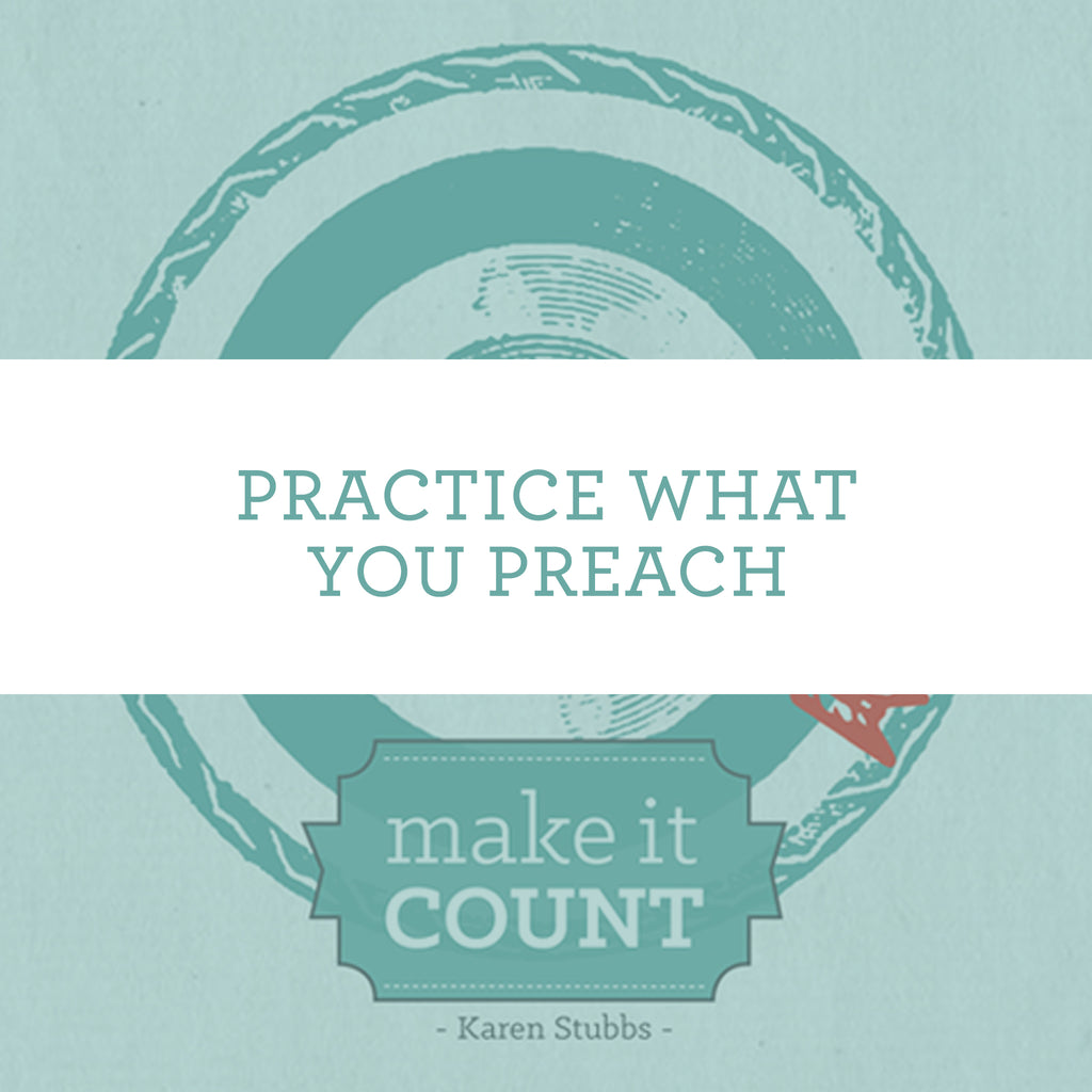 Practice What You Preach | Video Lesson (Online Access)