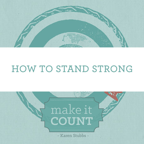 How To Stand Strong | Video Lesson (Online Access)