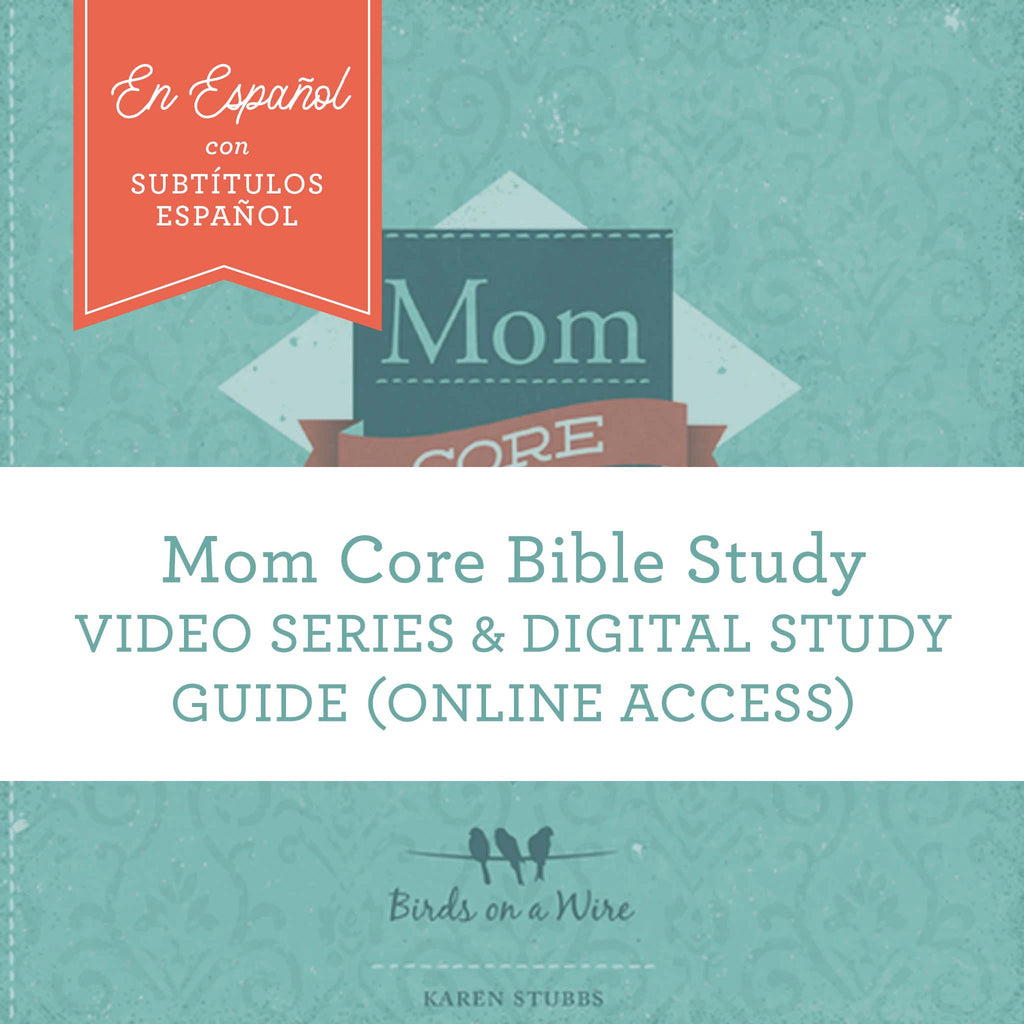 SPANISH-Mom Core Video Session and PDF