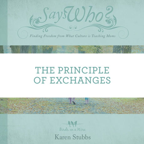 The Principle Of Exchanges | Video Lesson (Online Access)