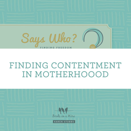 Finding Contentment In Motherhood | Video Lesson (Online Access)