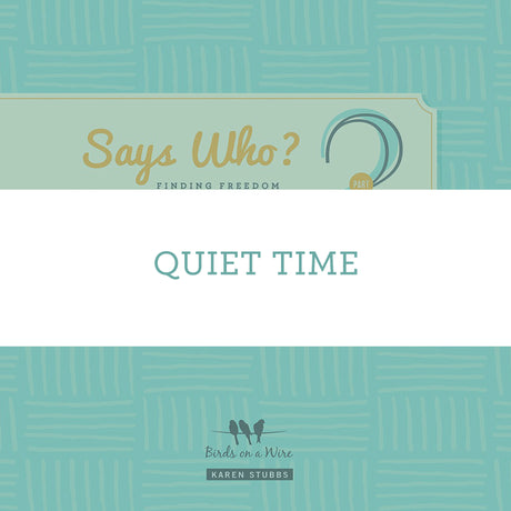 Quiet Time | Video Lesson (Online Access)