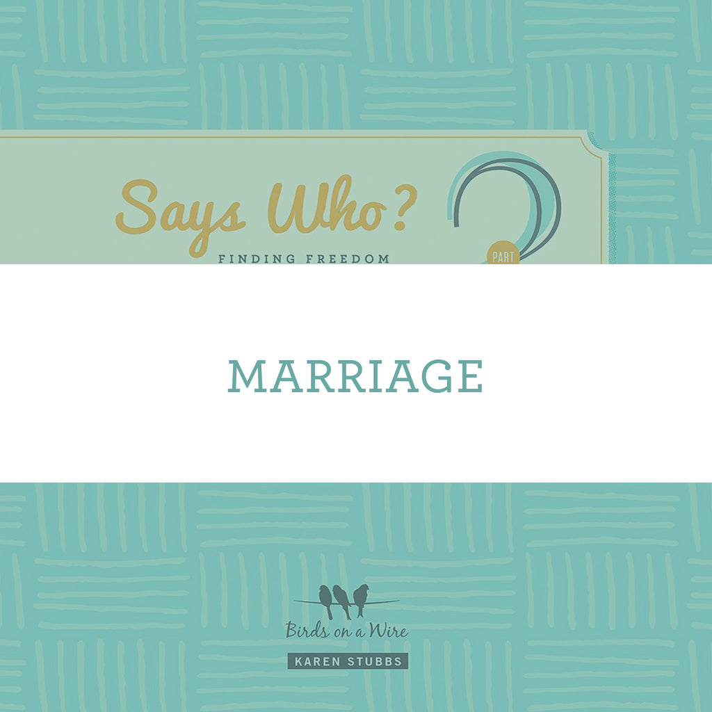 Marriage | Video Lesson (Online Access)