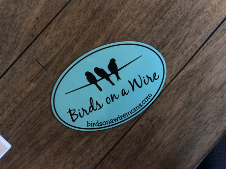 Birds on a Wire (BOAW) Car Magnet