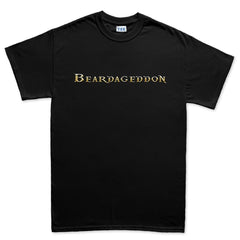 Beardageddon Gold Logo official merchandise shirt