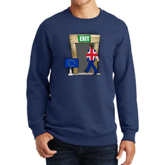 Britain Exiting the EU sweatshirt @ Fretshirt.com