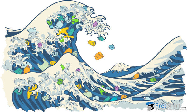 Great Plastic Wave @ Fretshirt.com