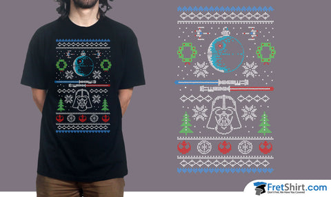 Star Wars Ugly Sweater @ fretshirt.com