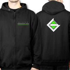 Full zipped Hoody xGladd Official Merchandise at Fretshirt.com