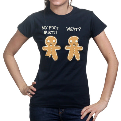 2 Gingerbread Men Womens T-shirt