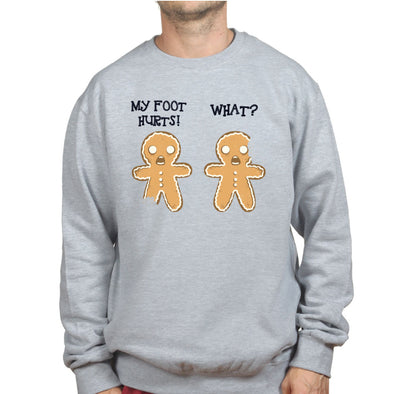2 Gingerbread Men Sweatshirt