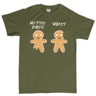2 Gingerbread Men T-shirt
