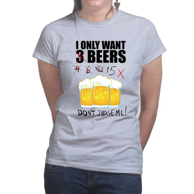 3 Beers Women's T-Shirt, [product_type) - Fretshirt.com
