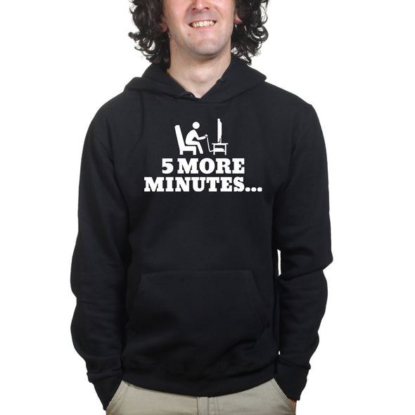 5 More Minutes Gaming Hoodie, [product_type) - Fretshirt.com
