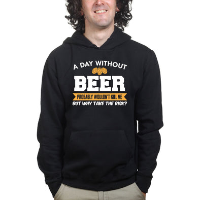 A Day Without Beer Hoodie - Fretshirt.com