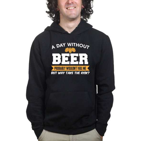 A Day Without Beer Hoodie, [product_type) - Fretshirt.com